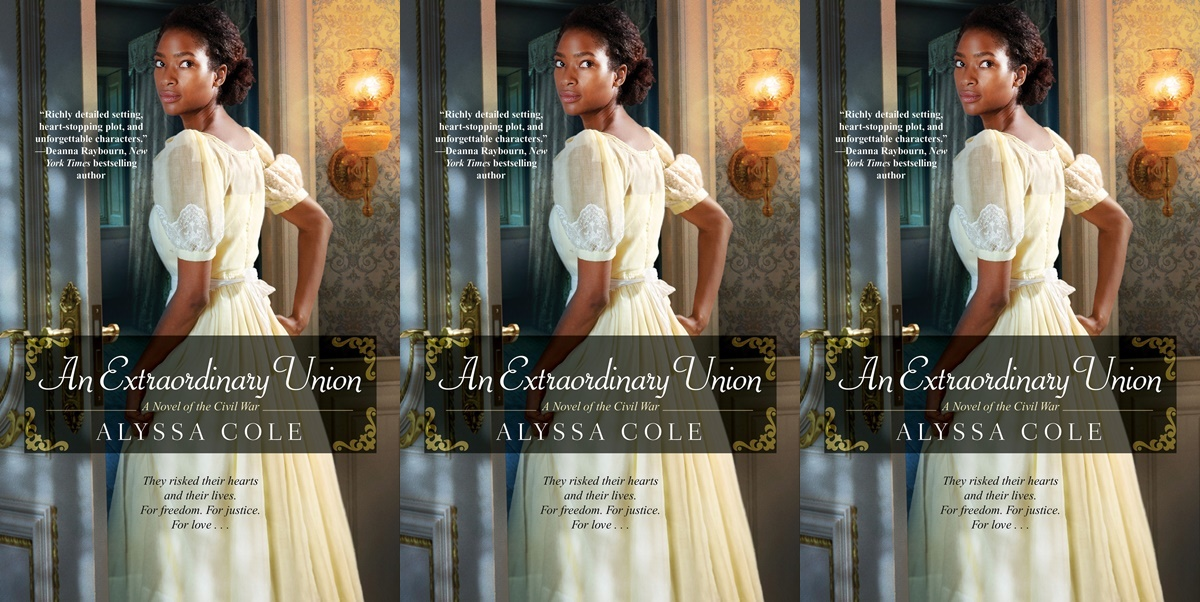 alpha heroines in romance, cover of an extraordinary union by alyssa cole, books