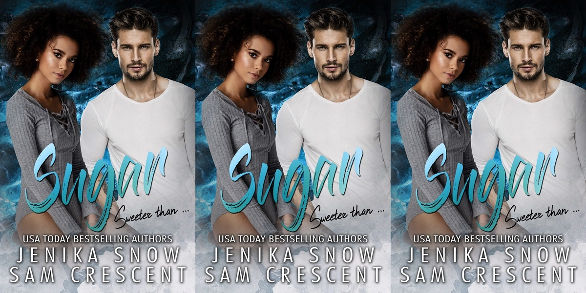 alpha heroines in romance, cover of sugar by jenika snow and sam crescent, books
