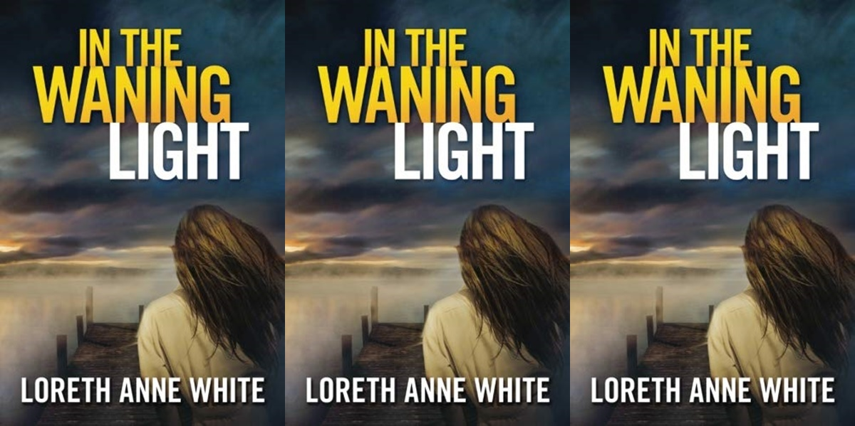 romantic suspense novels, cover of in the waning light by loreth anne white, books