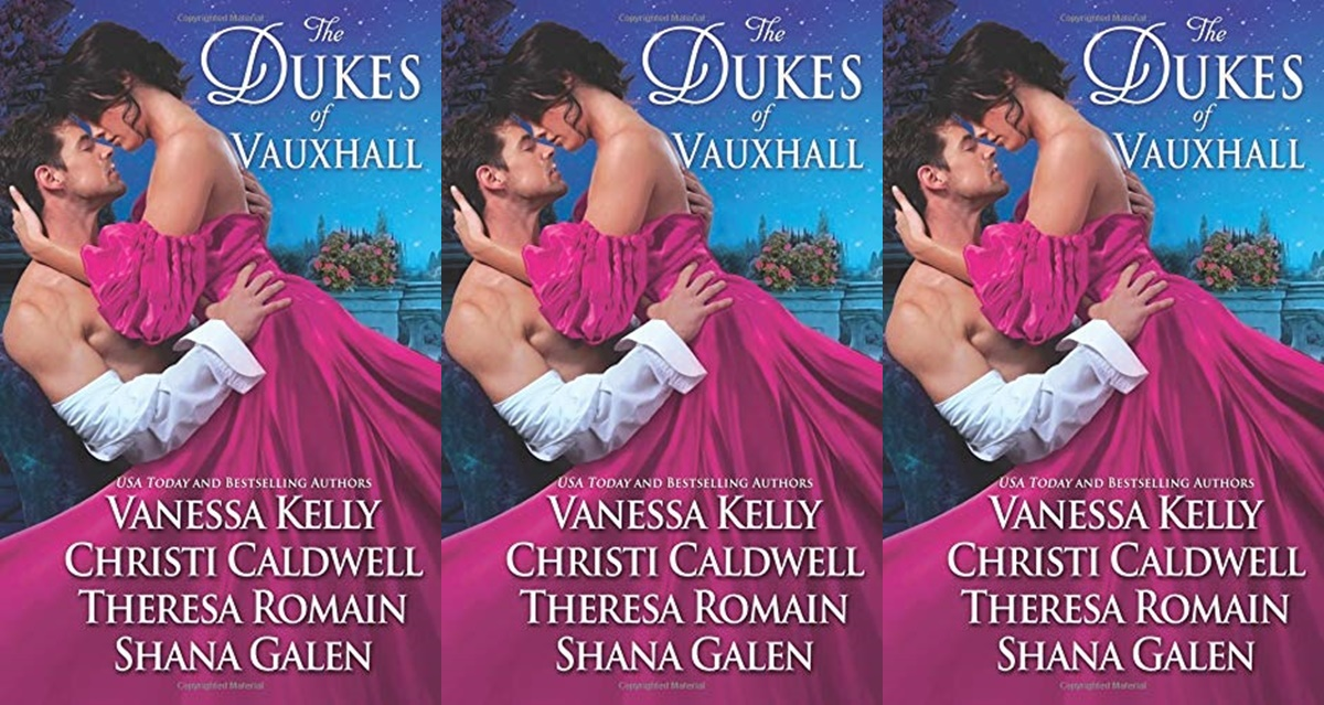 romance anthologies, cover of the dukes of vauxhall, books