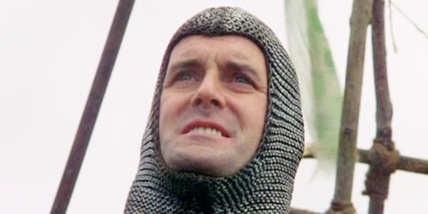 60s comedians, John Cleese, Monty Python and The Holy Grail