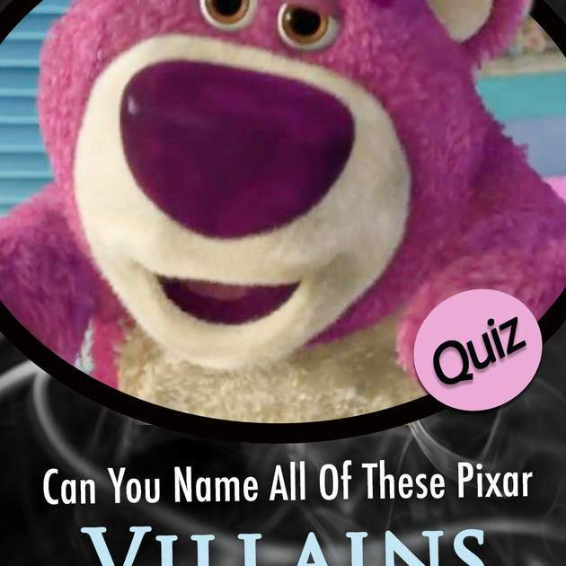 Pixar Quiz: Can You Name All Of These Pixar Villains By 3