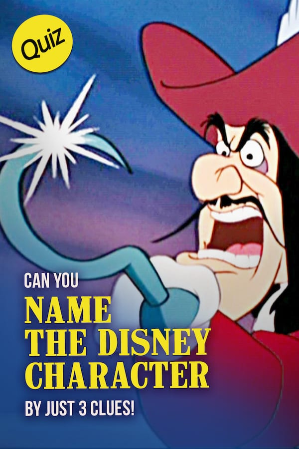 Disney Quiz: Can You Name All Of These Disney Characters By