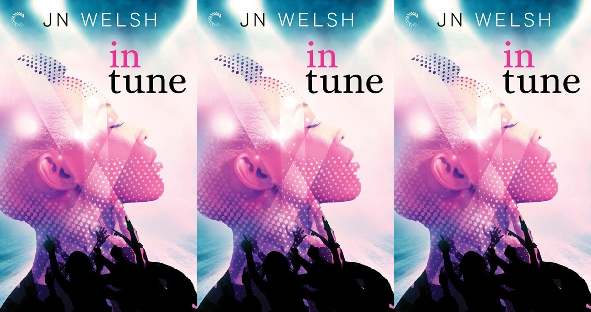 gorgeous romace novel covers, in tune by j.n. welsh, books
