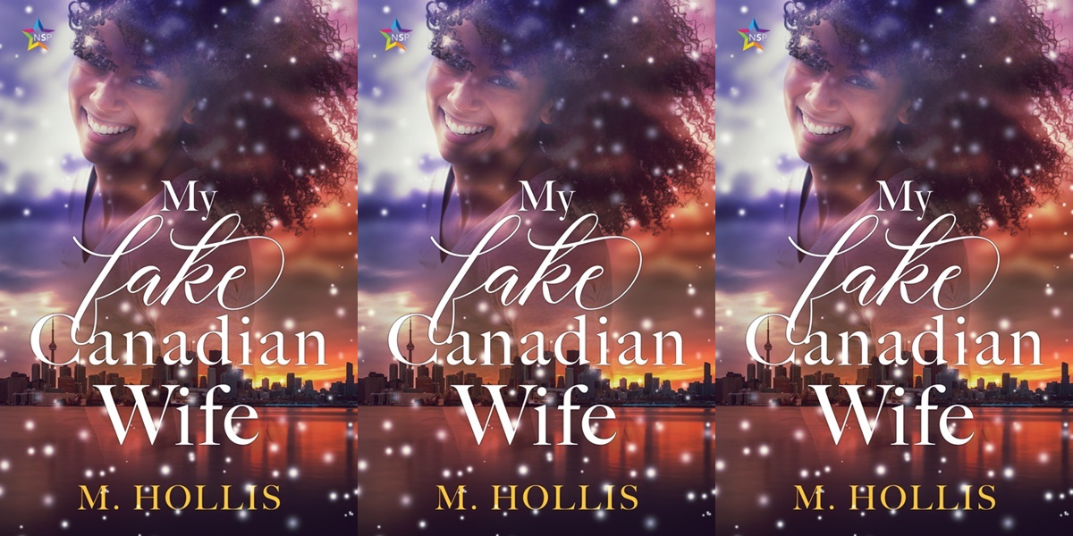gorgeous romance novels, my fake canadian wife by m. hollis, books