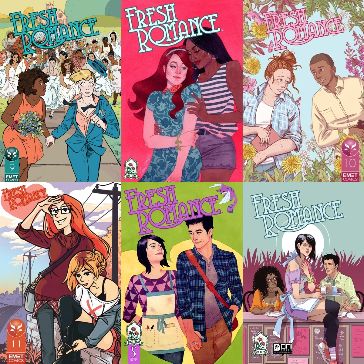 Gorgeous Romance Covers, covers of fresh romance, books