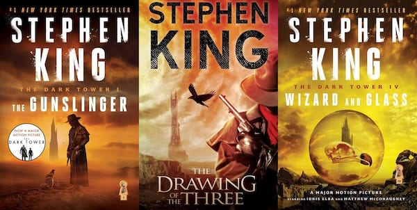 books like game of thrones, the dark tower series by stephen king, books