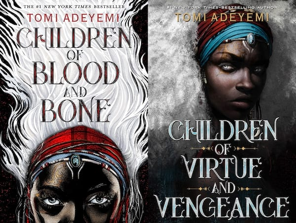 books like game of thrones, cover of legacy of orisha by tomi adeyemi, books