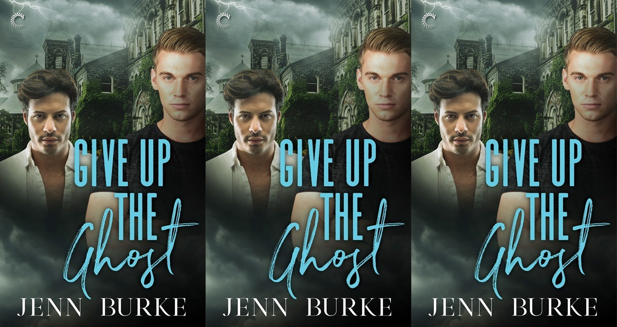 june romance releases, give up the ghost by jenn burke, books