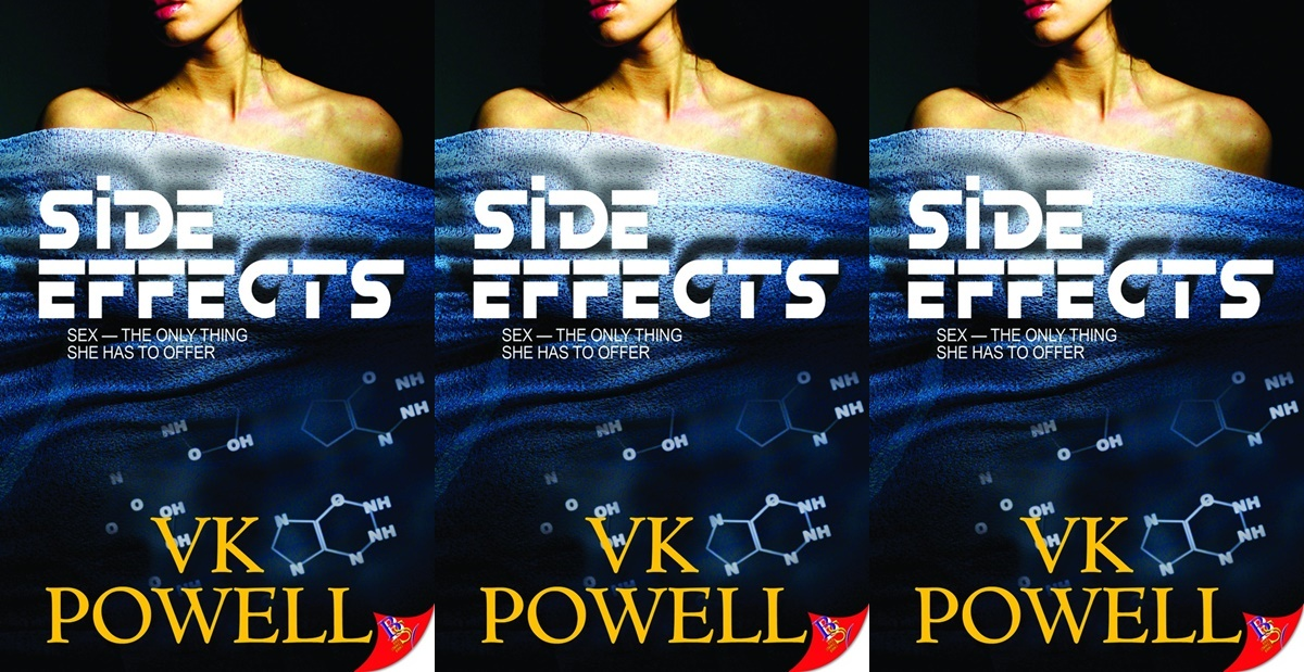romance novels featuring abortions, side effects by v.k. powell, books