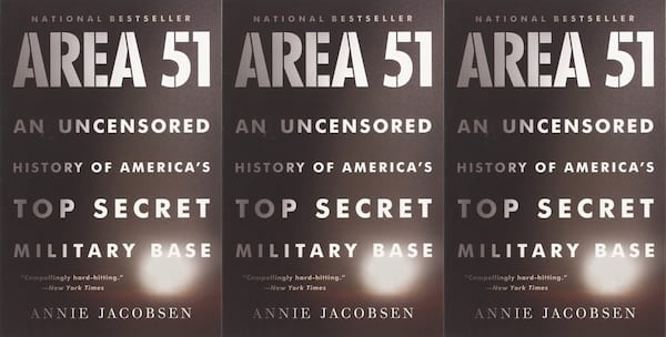 annie jacobsen books, area 51: an uncensored history of america's top secret military base, books
