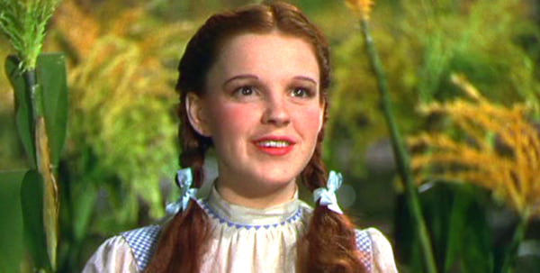 movies, the wizard of oz, 1939, judy garland as dorothy, AMC