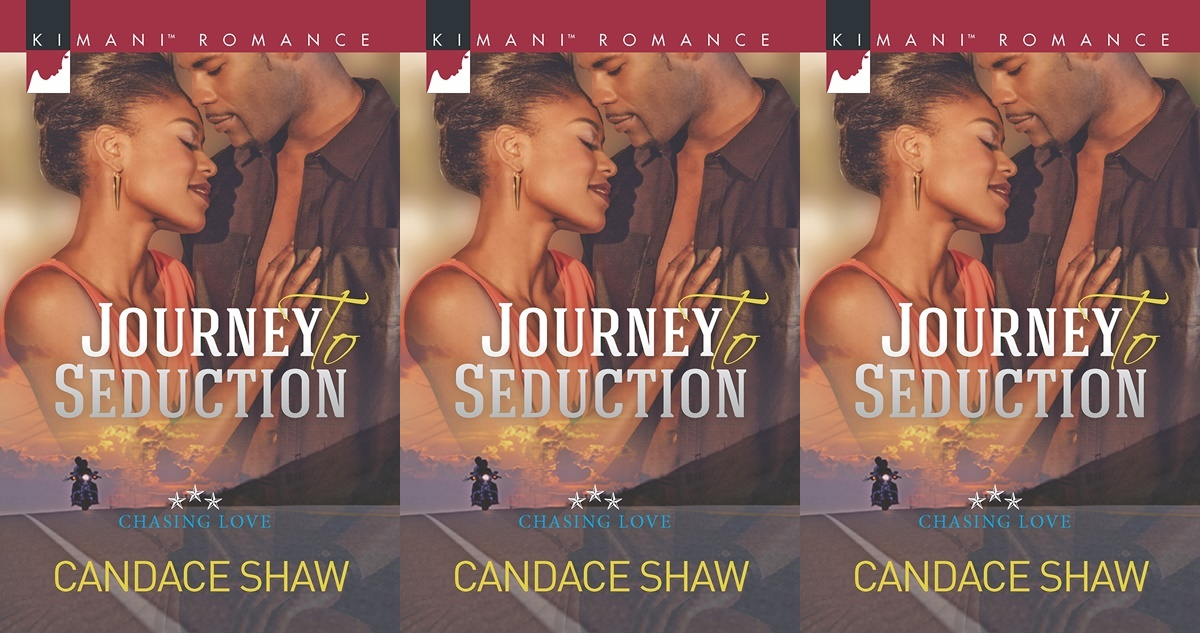 roadtrip romance novels, journey to seduction by candace shaw, books