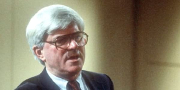 80s talk show host, tv, Phil Donahue, The Phil Donahue Show