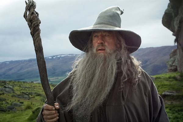 gandalf from lord of the rings trilogy the hobbit