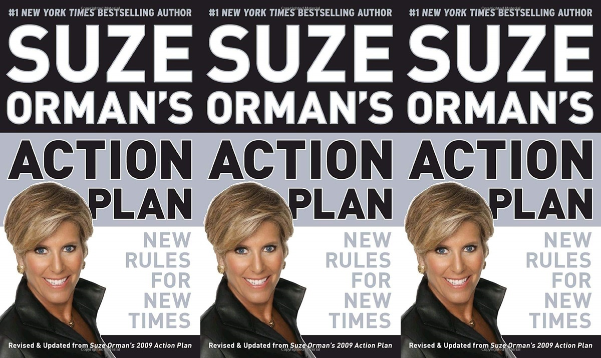 suze orman books, suze orman's action plan: new rules for new times, books