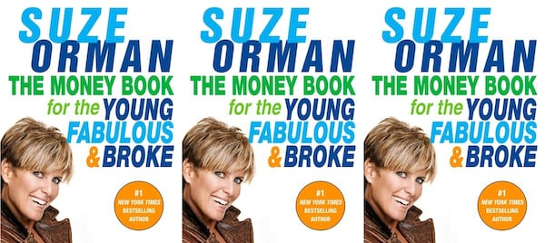 suze orman's books, the money book for the young, fabulous & broke by suze orman, books