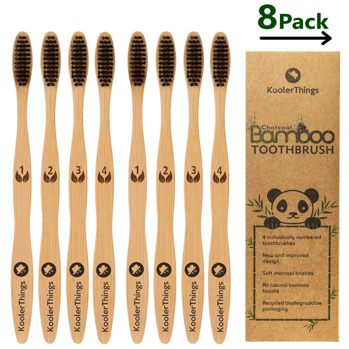 Kooler Things bamboo toothbrush from Amazon