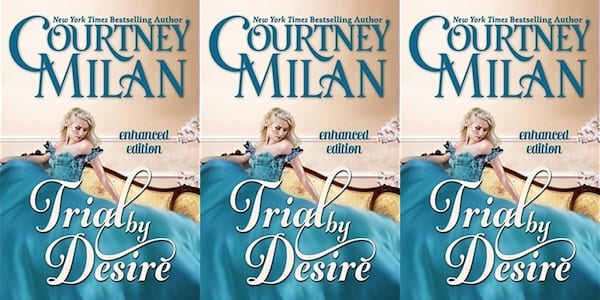 mental illness by romance novels, trial by desire by courtney milan, books
