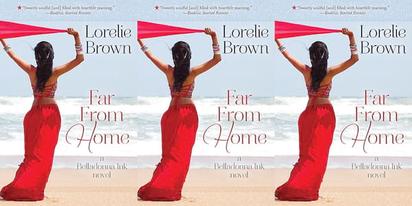 mental illness in romance novels, far from home by lorelie brown, books