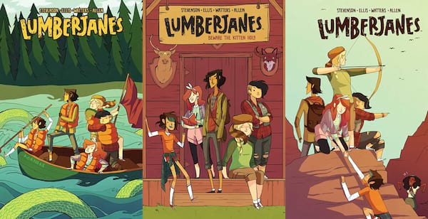 books, lumberjanes series by noelle stevenson, books for kids who like harry potter