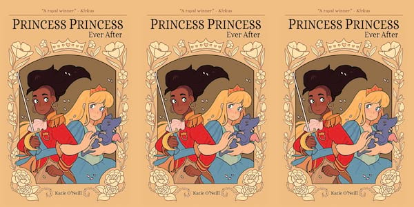books, princess princess ever after by katie o'neill, books for kids who like harry potter