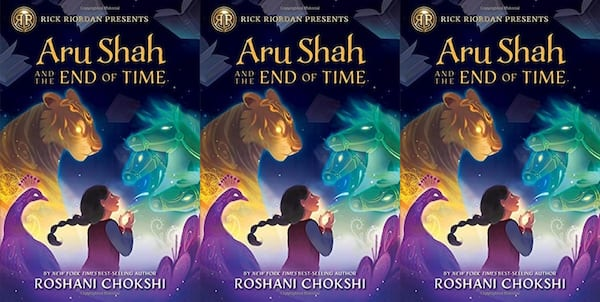 books, aru shah and the end of time by roshani chokshi, books for kids who like harry potter
