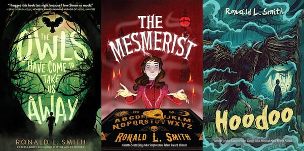 books for kids who like harry potter, three books by ronald l. smith, books