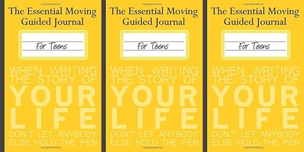 books about moving, the essential moving guided journal for teens by sara elizabeth boehm, books