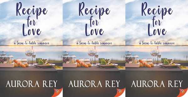 books, recipe for love by aurora rey, lgbt books