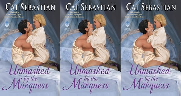 lgbt books, unmasked by the marquess by cat sebastian, books