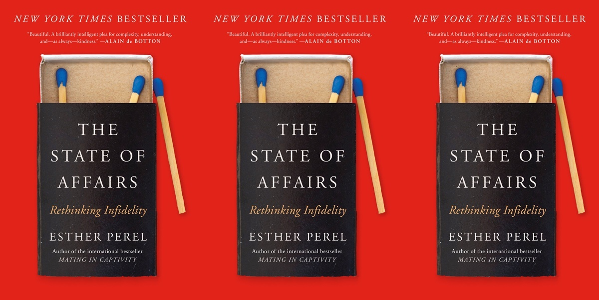 books about infidelity, the state of affairs by esther perel, books