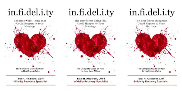 books, infidelity: the best worst thing that could happen to your marriage by talal h alsaleem, books about infidelity