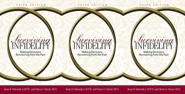 books, surviving infidelity by rona b subotnik and gloria harris, books about infidelity