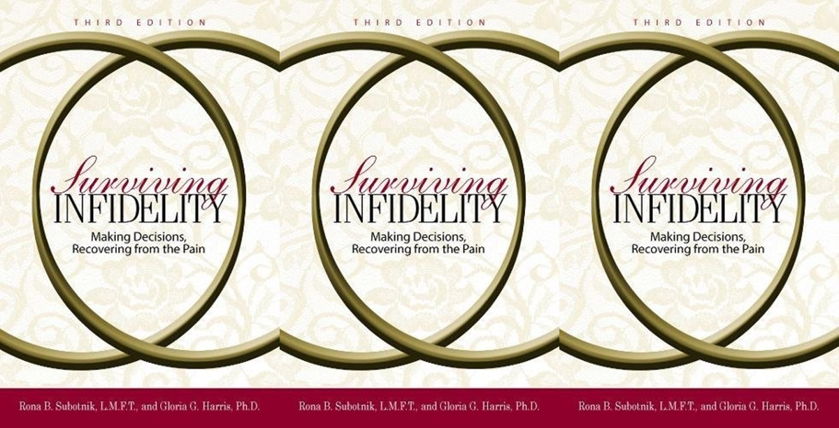 books about infidelity, surviving infidelity by rona b subotnik and gloria harris, books