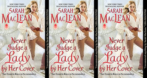 books, never judge a lady by her cover by sarah maclean, romance novels we'd love to see on the big screen