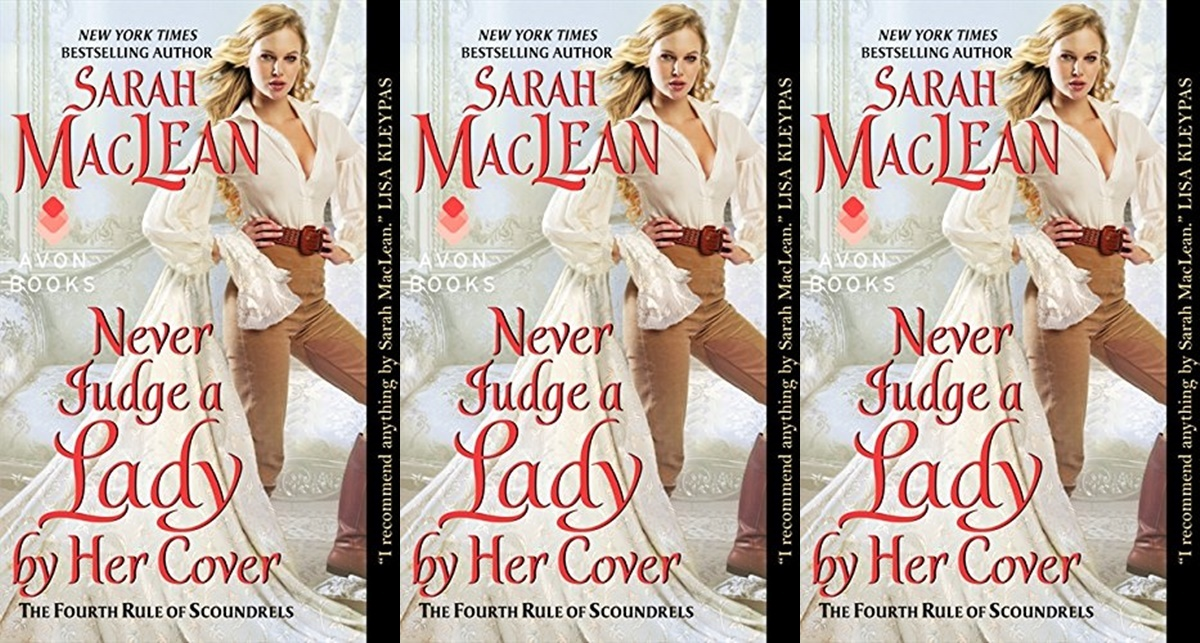 romance novels we'd love to see on the big screen, never judge a lady by her cover by sarah maclean, books