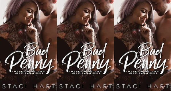 books, bad penny by staci hart, romance novels we'd love to see on the big screen