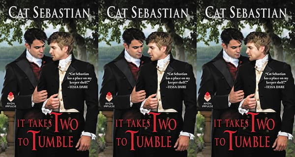 books, it takes two to tumble by cat sebastian, romance novels we'd love to see on the big screen
