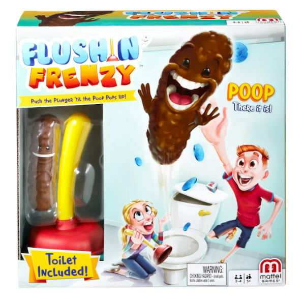 Flushin' Frenzy board game from Target
