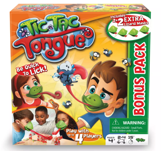 Tic Tac Tongue board game from Target