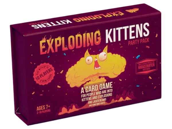 Exploding Kittens board game from Target