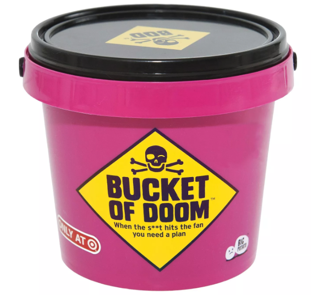 Bucket of Doom board game from Target