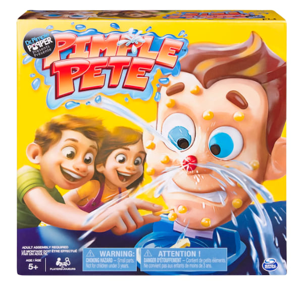 Pimple Pete board game from Target