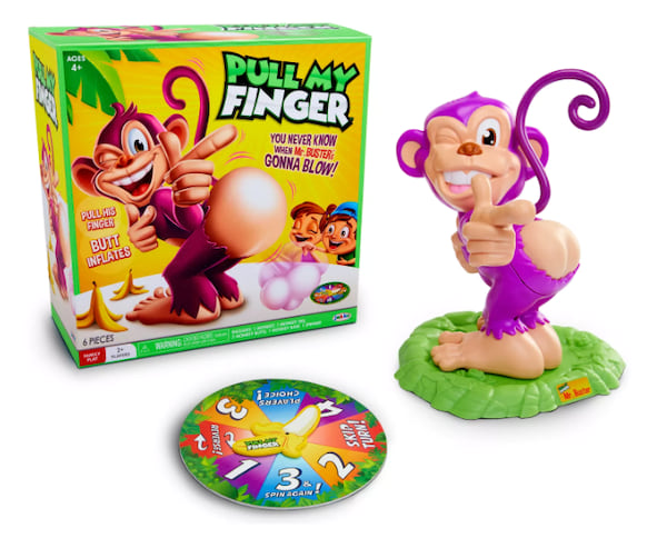 Pull My Finger board game from Target