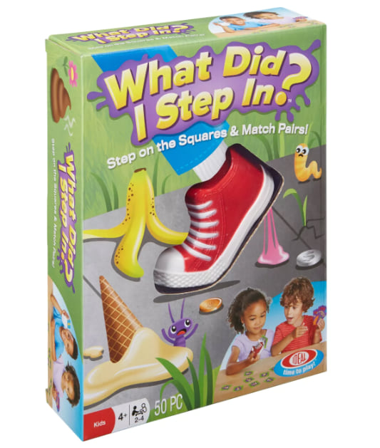 What Did I Step In? board game from Target