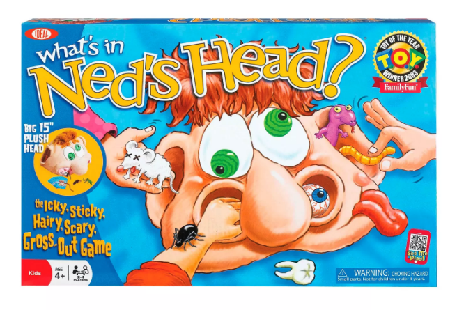 What's in Ned's Head? board game from Target