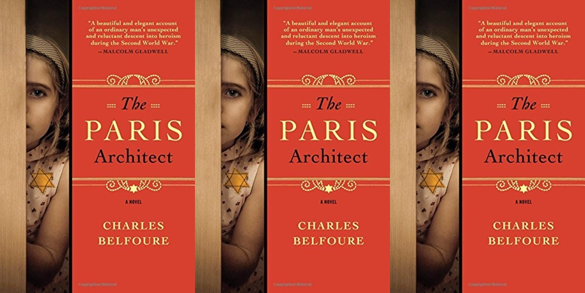 books like all the light we cannot see, the paris architect by charles belfoure, books