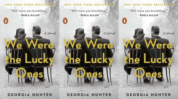 books like all the light we cannot see, we were the lucky ones by georgia hunter, books