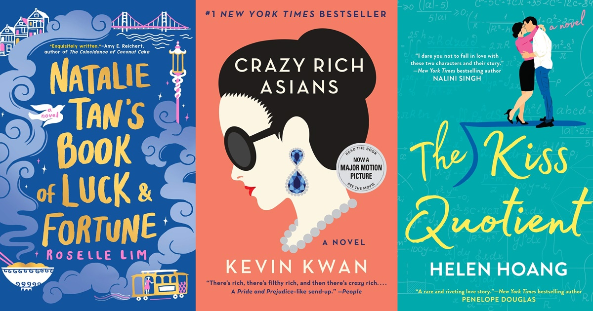 books like crazy rich asians, books